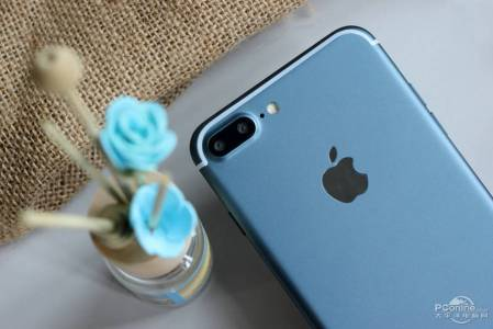 iPhone 7 Plus albastru pornit 3