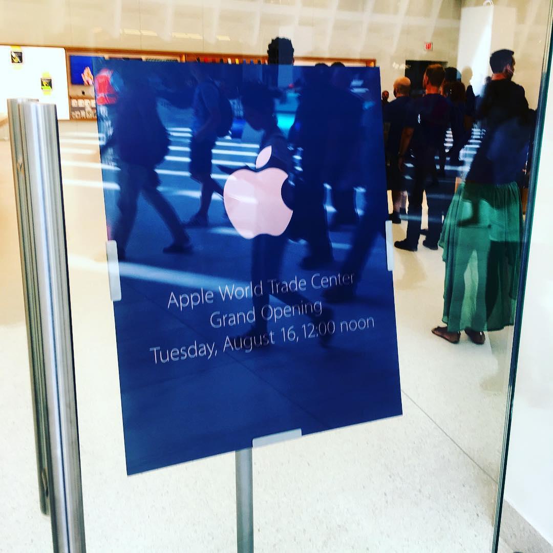 imagini apple store world trade center 6