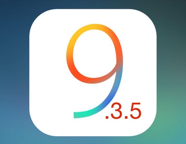 ios 9.3.5 rapid