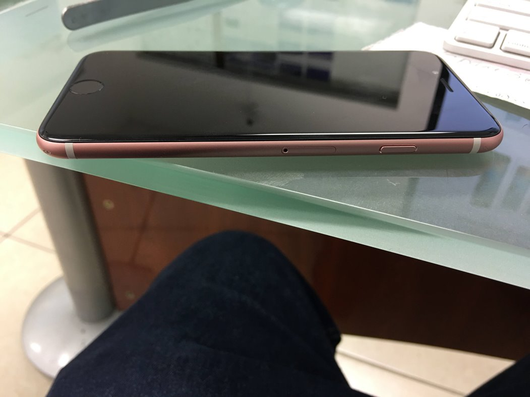 iphone 6s negru roz feat