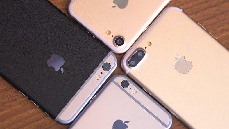 iphone 7 camera baterie ecran ram