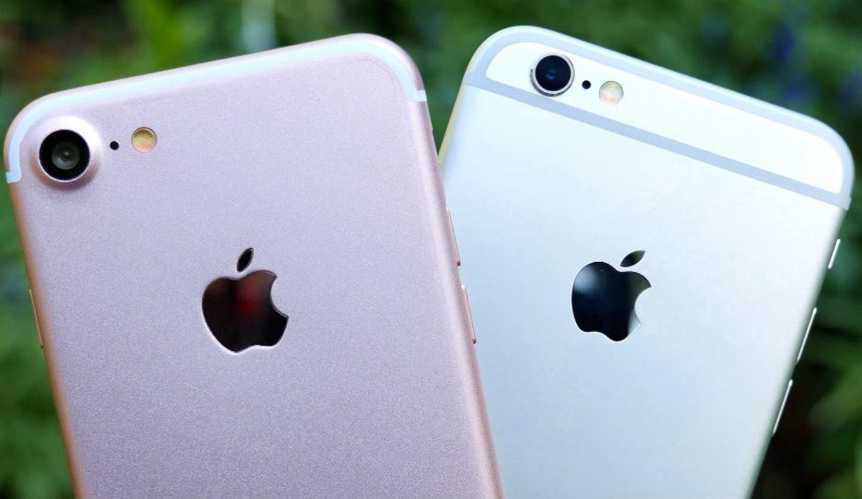 iphone 7 comparat iphone 6s