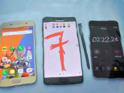 iphone 7 vs galaxy note 7 rezistenta apa