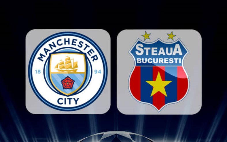 live online Manchester City - Steaua pe smartphone, iPhone, iPad, tableta si calculator