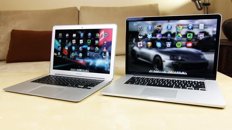 macbook pro si air 2016
