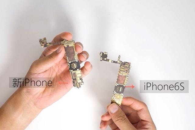placa de baza iphone 7 comparatie