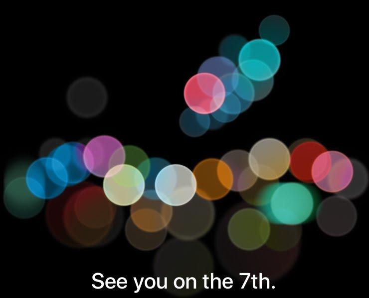 prezentare iphone 7 pe 7 septembrie