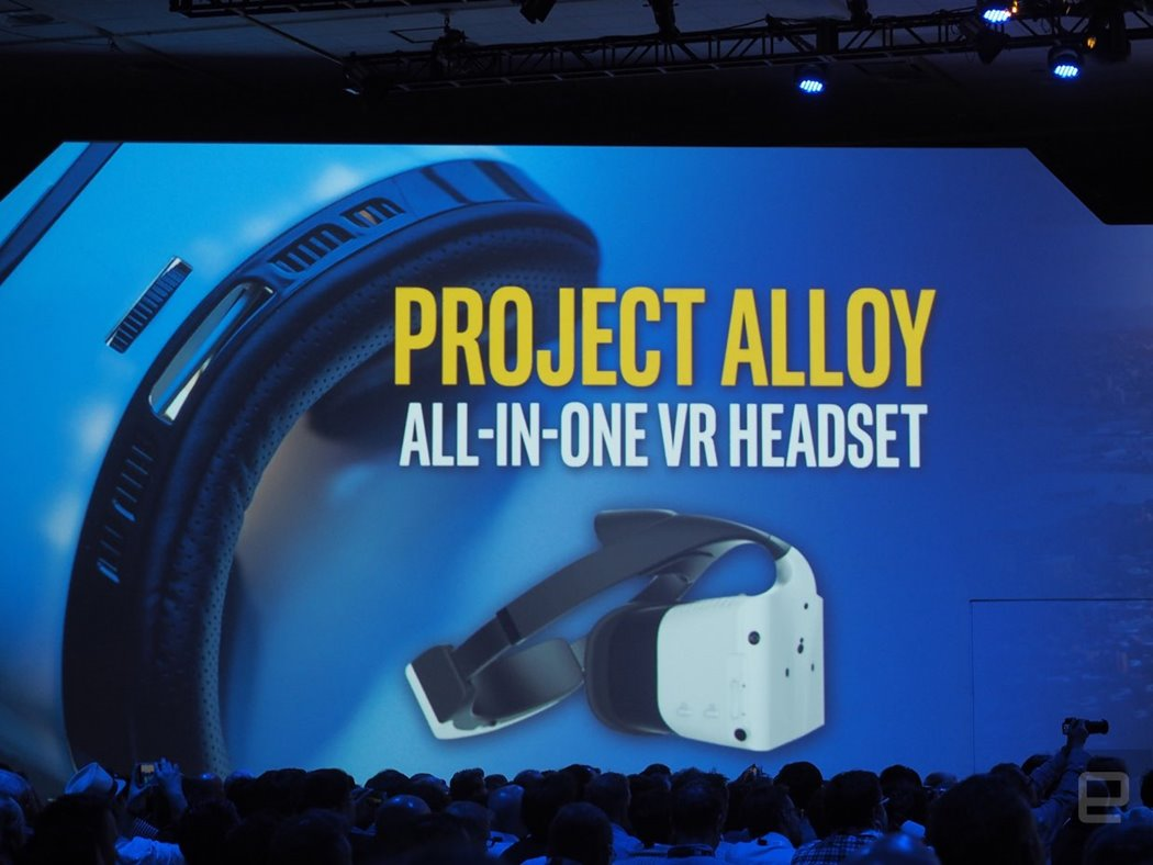 project alloy intel realitate virtuala