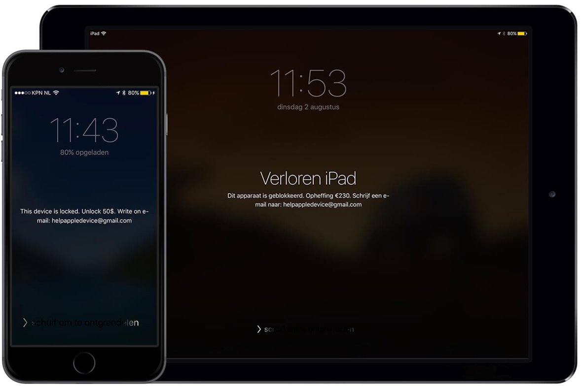 ransomware iPhone iPad