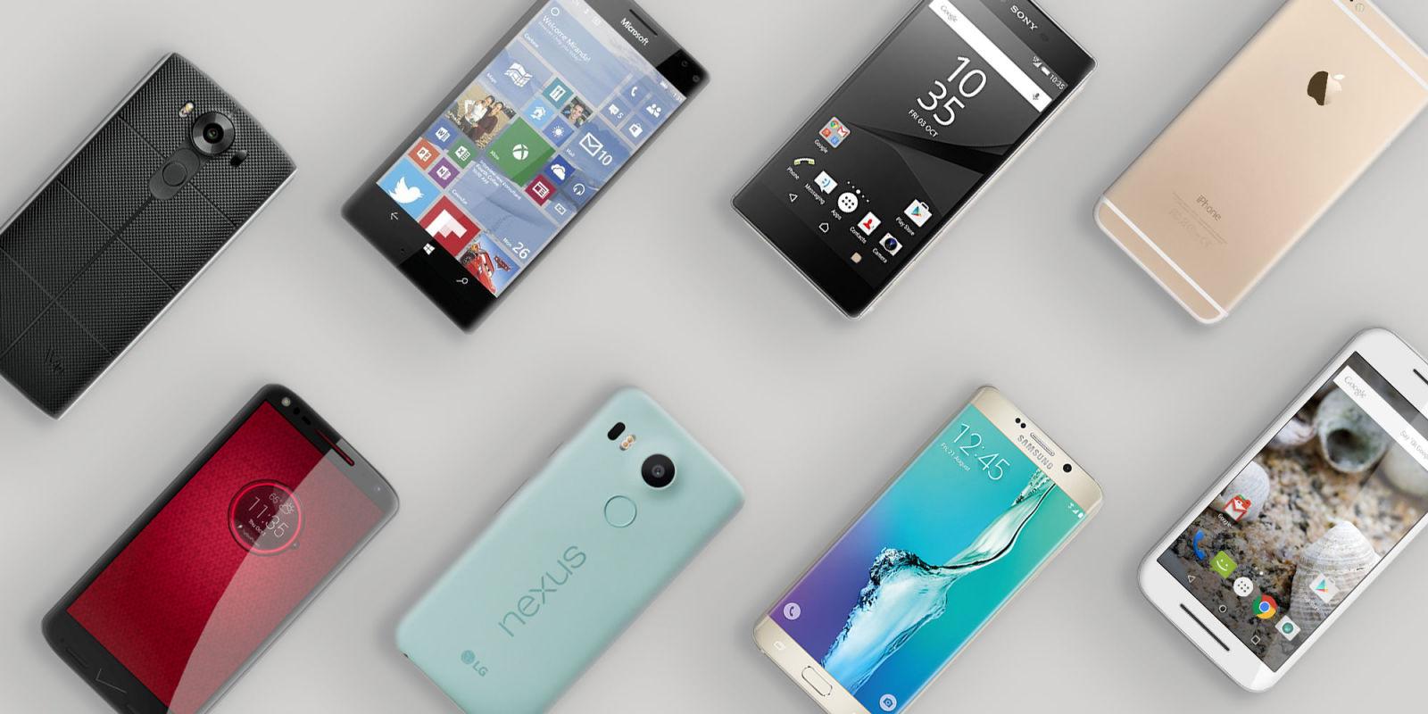 smartphone ecran plat