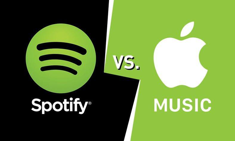 spotify artisti apple music