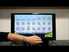 touchpad-ul transparent care poate fi alungit
