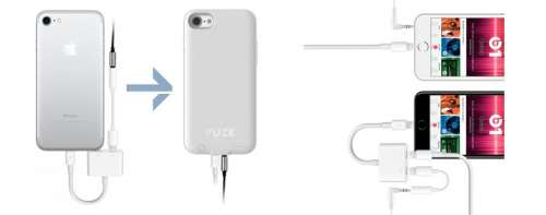 Fuze port audio iPhone 7