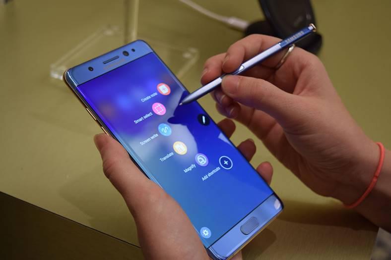 Galaxy Note 7 rechemat belgia