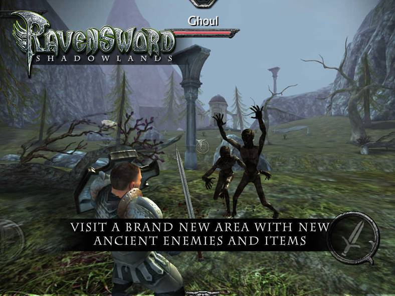 Ravensword Shadowlands iphone