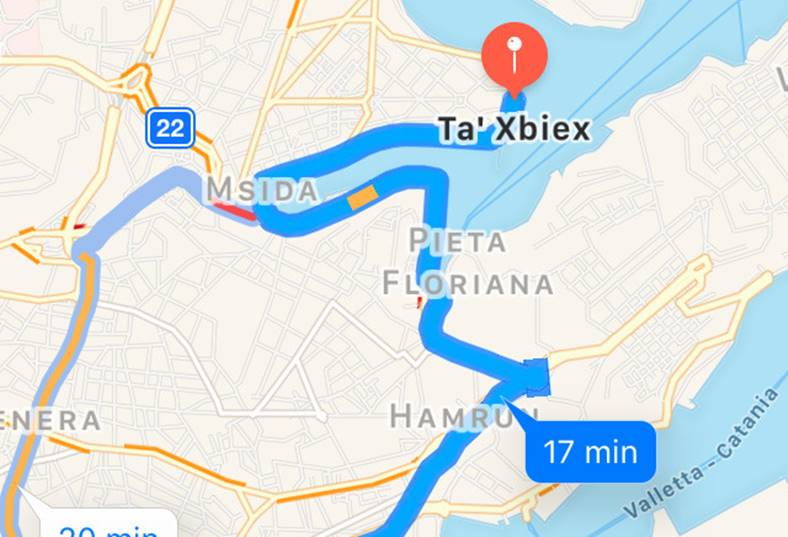 apple maps informatii trafic