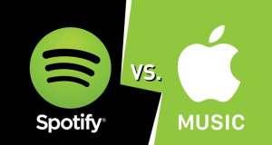 apple music spotify abonati