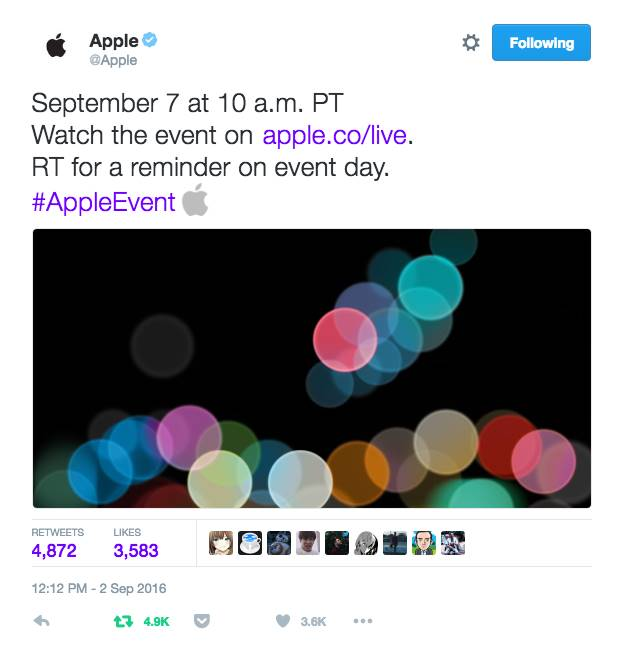 apple promovare iphone 7