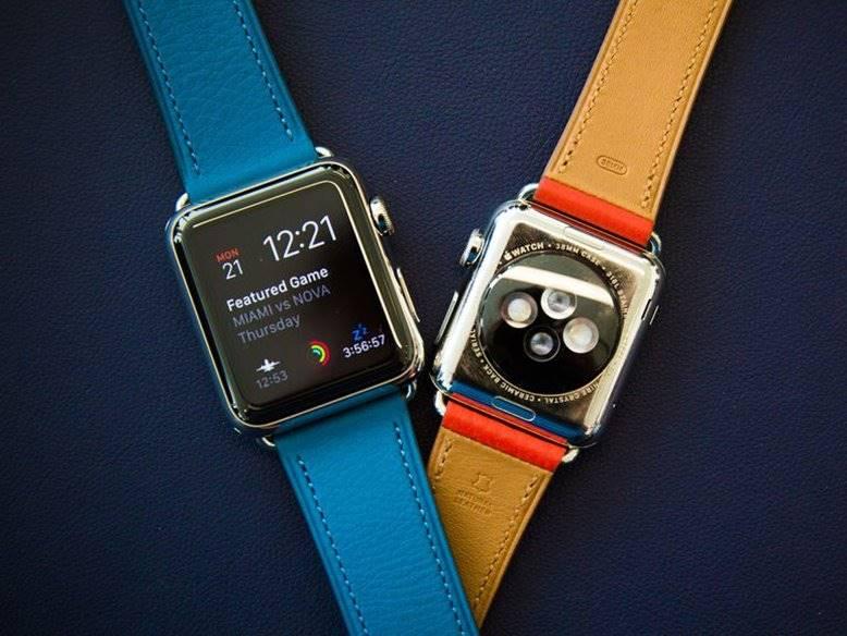 apple watch 2 baterie ecran