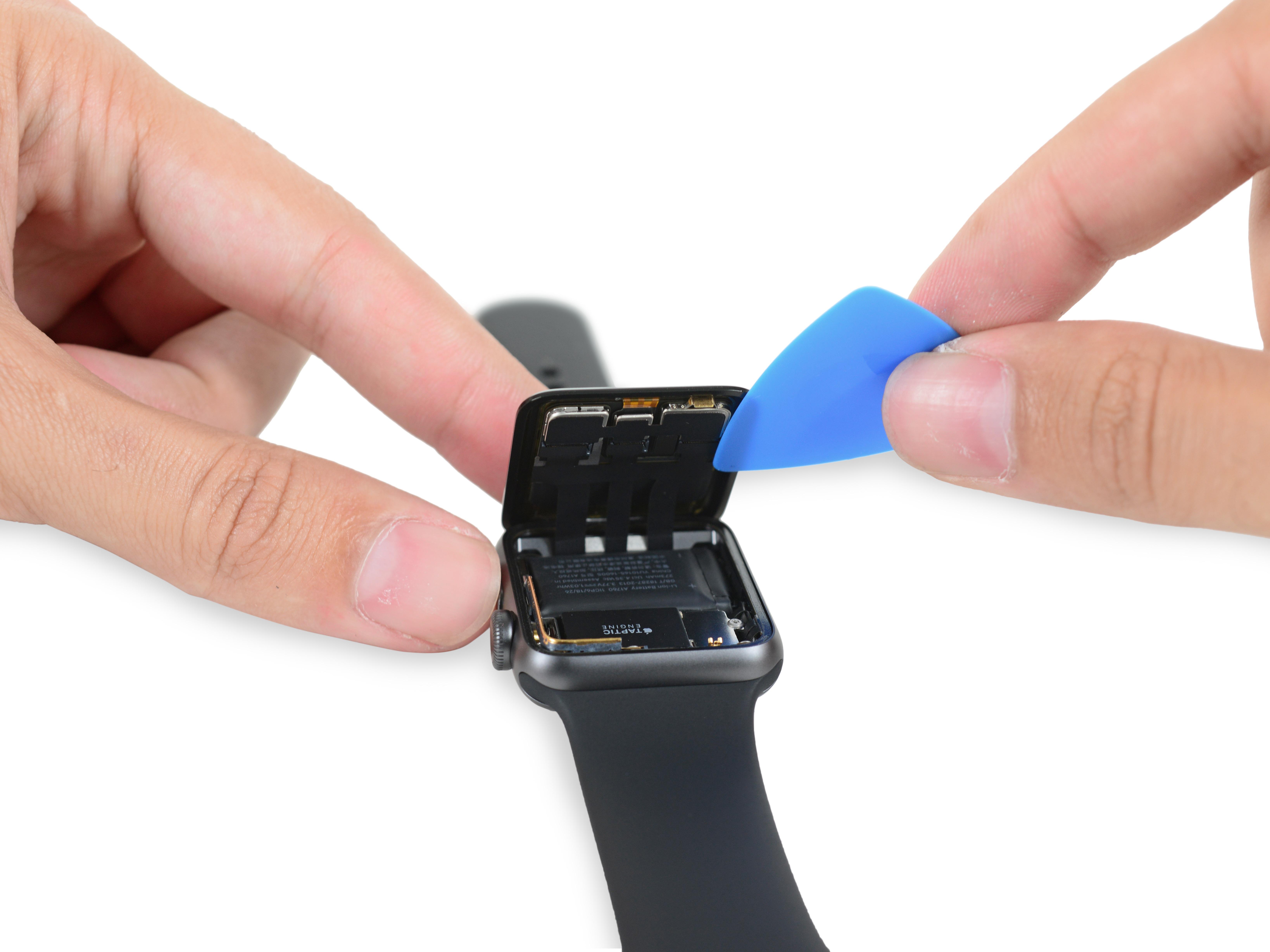 apple watch 2 dezasamblare