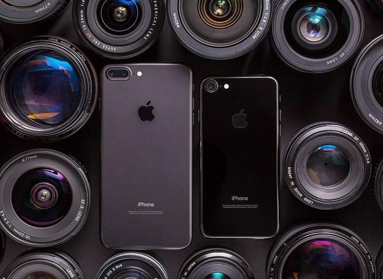 camera iphone 7 plus comparatie