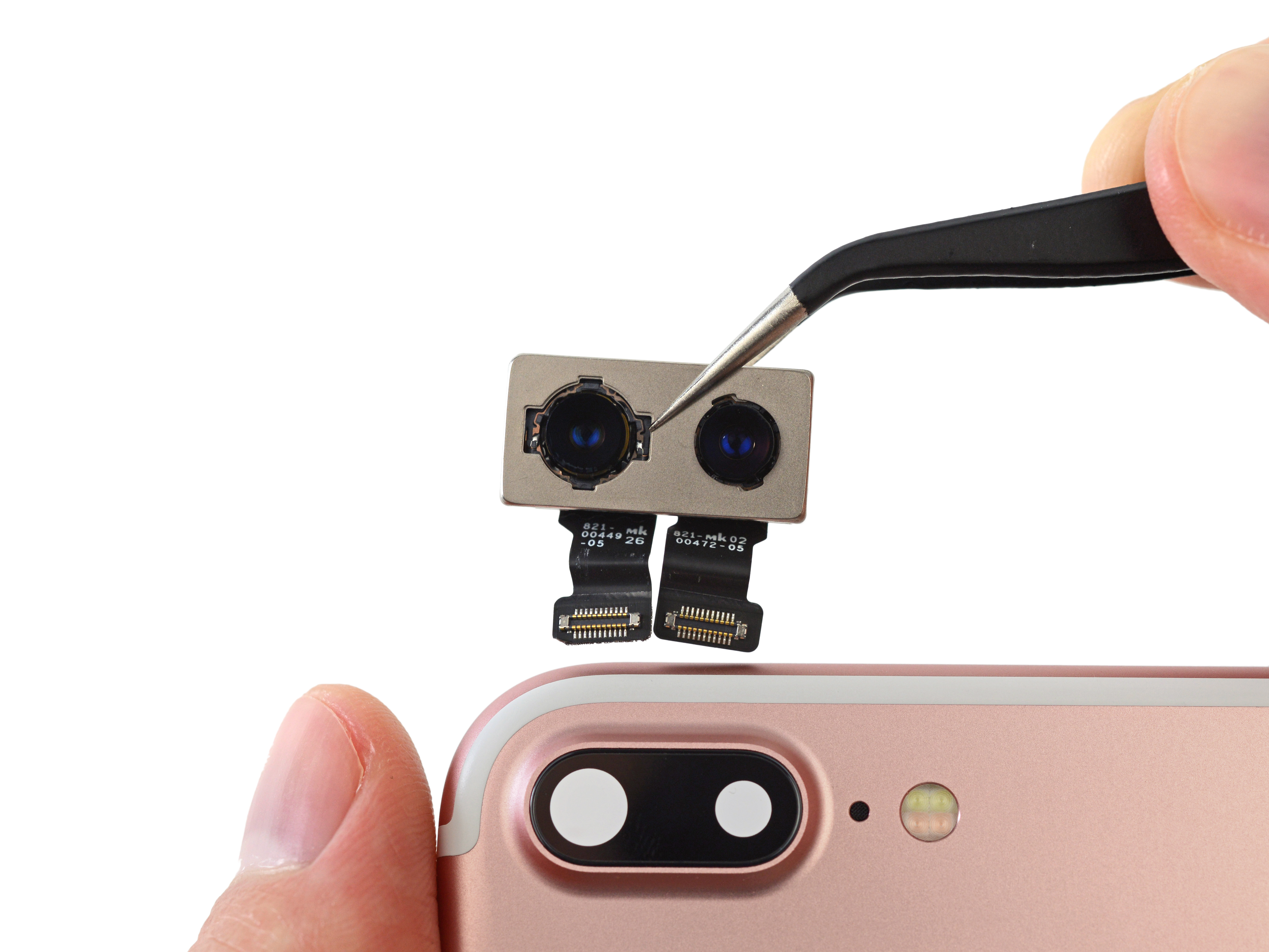 camera iphone 7 plus dezasamblat