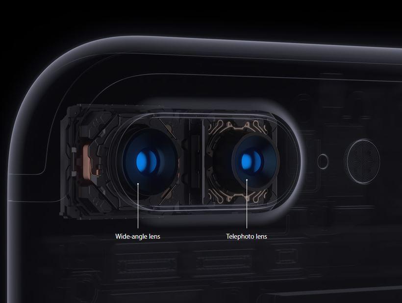 camera iphone 7 plus wide telephoto