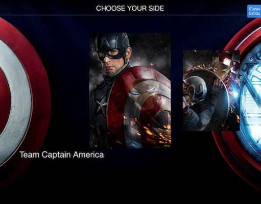captain america civil war exclusiv itunes