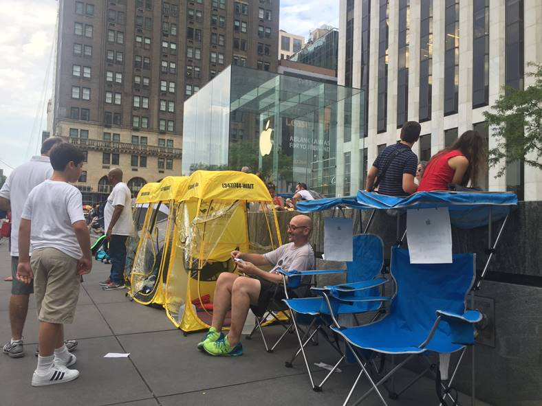 coada iphone 7 new york
