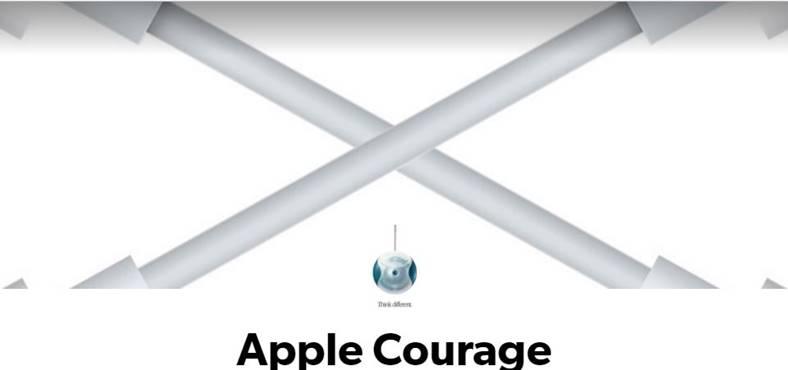 curajul Apple