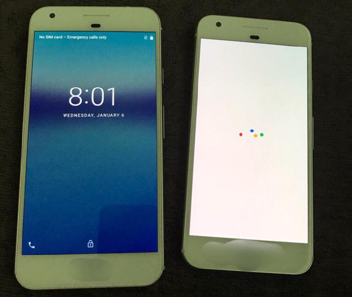 google pixel seamana iphone 7