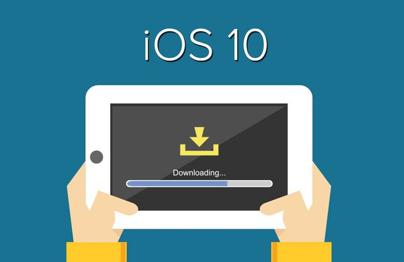 instalare ios 10 iphone, ipad, ipod touch