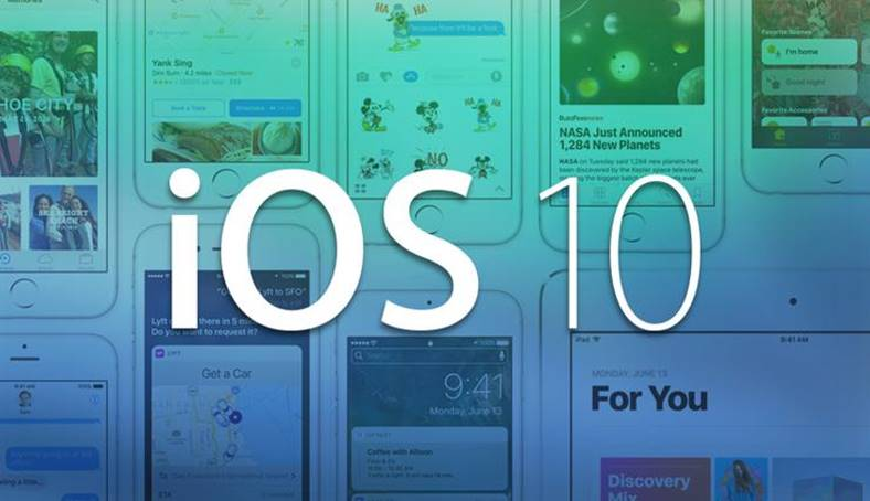 ios 10 iphone ipad lansat