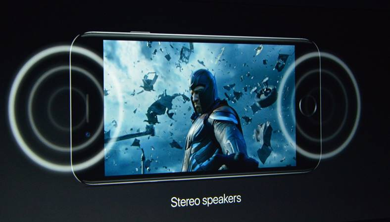 iphone 7 difuzoare stereo