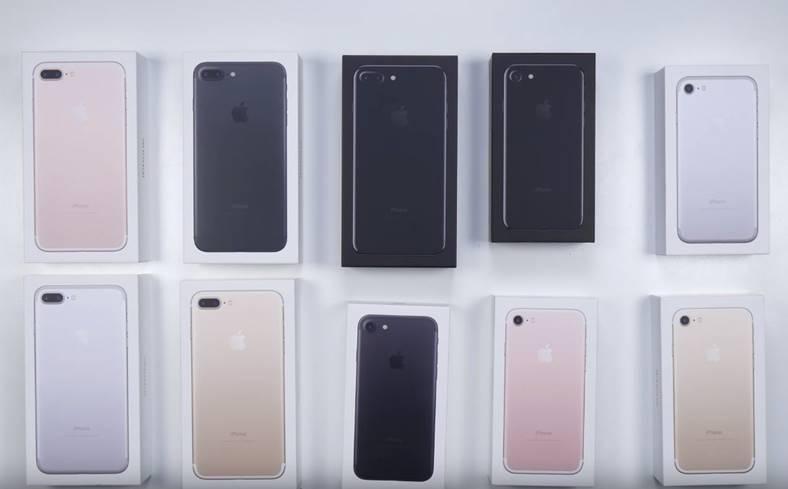 iphone 7 iphone 7 plus unboxing culori