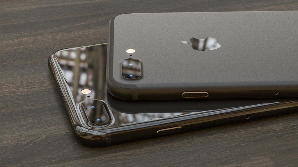iphone 7 negru lucios sau mat