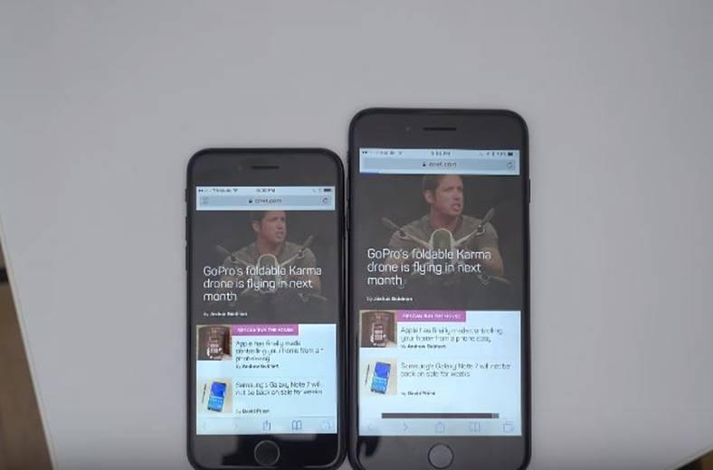 iphone 7 plus 3 gb ram test