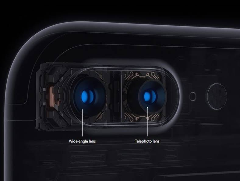 iphone 7 plus camera duala senzori marime