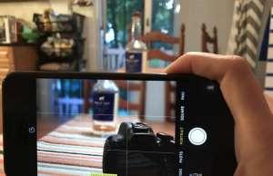 iphone 7 plus dslr canon t4i comparatie camera