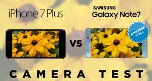 iphone 7 plus galaxy note 7 comparatie camere