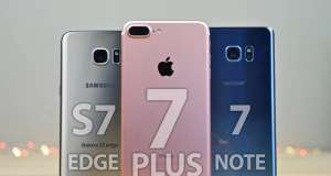 iphone 7 plus galaxy s7 edge note 7