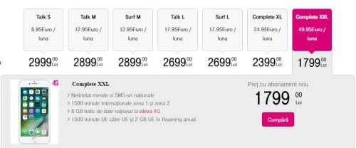 iphone 7 pret telekom abonament