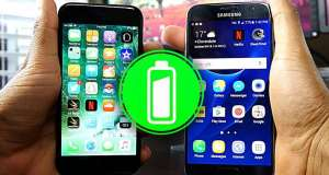 iphone 7 samsung galaxy s7 autonomie baterie