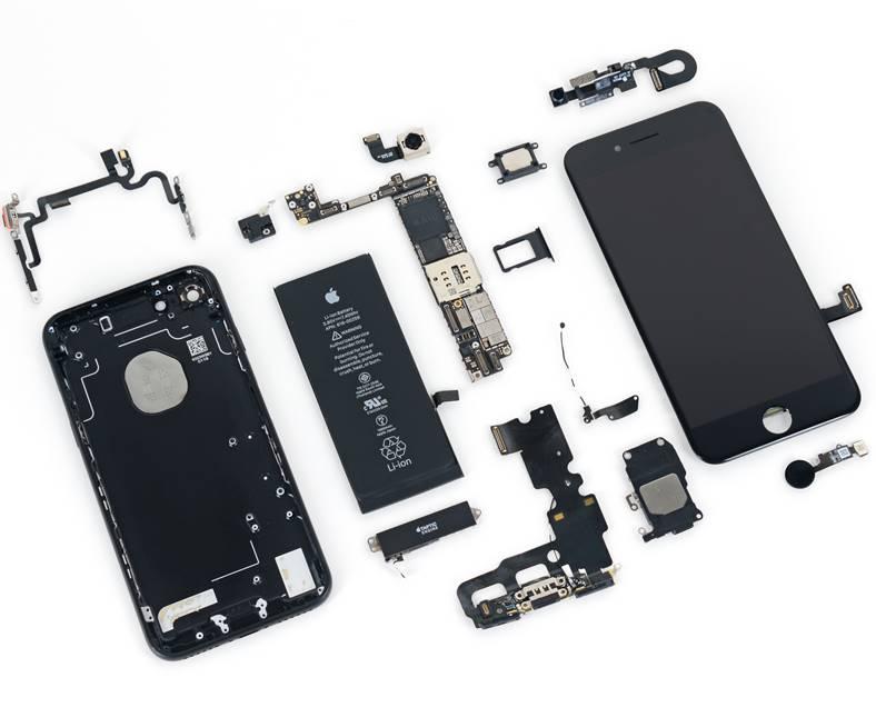 iphone 7 si iphone 7 plus repara usor