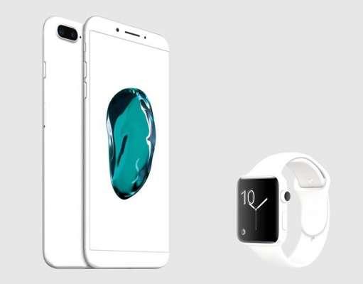 iphone 8 concept ceramic alb