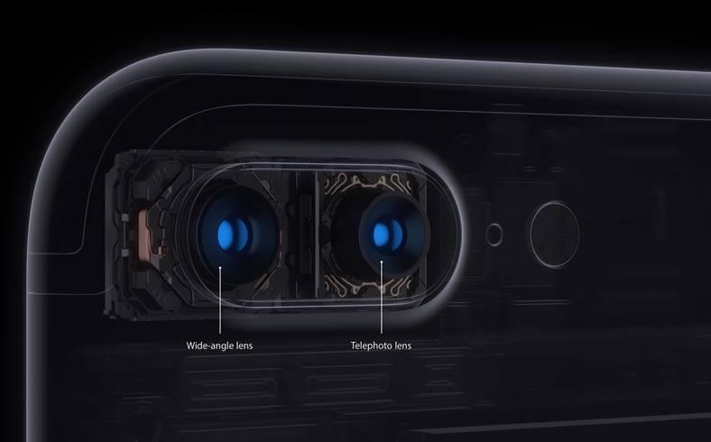 iphone 8 plus camera duala