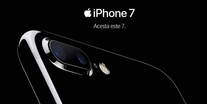 lansare iphone 7 romania