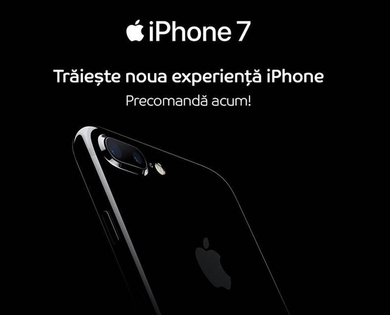 lansare iphone 7 romania cumpara
