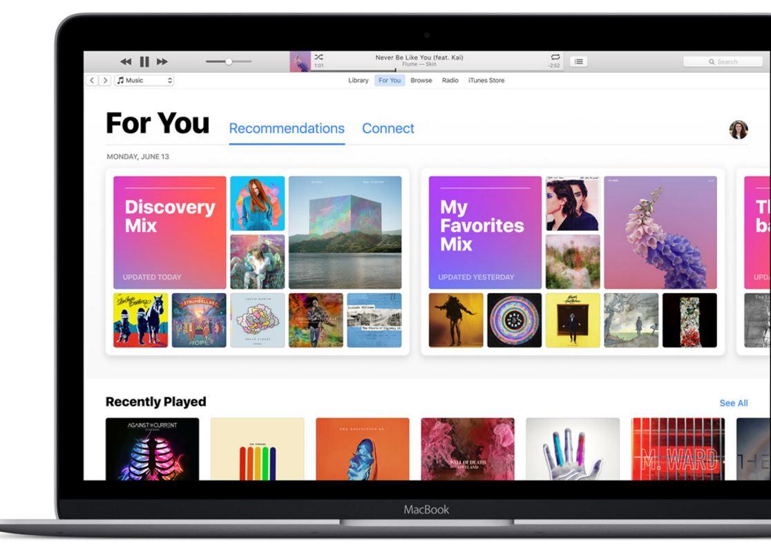 macOS Sierra iTunes