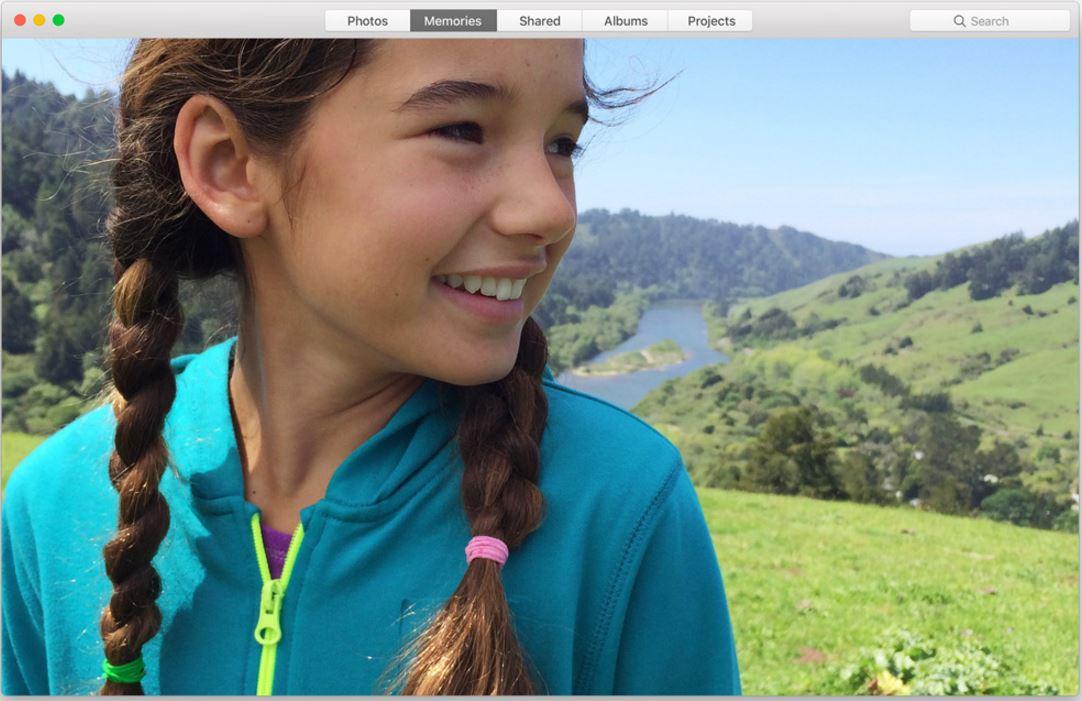 macOS Sierra poze amintiri